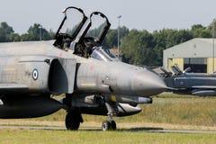 F-4幽灵战斗机 免版税图库摄影