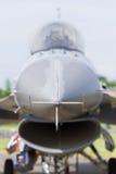 F-16战斗机正面图 免版税库存照片