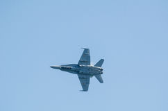 F-18战斗机 图库摄影