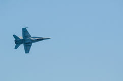 F-18战斗机 免版税库存照片