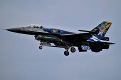 F-16战斗机 库存图片