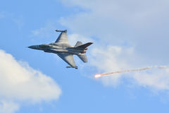 F-16正块52 免版税库存照片