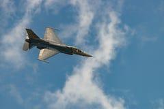 F-16猎鹰的演变 库存照片
