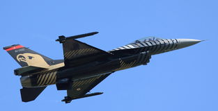 F-16猎鹰 免版税图库摄影