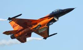 F-16猎鹰 库存照片
