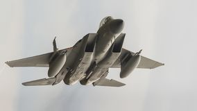 F15老鹰喷气机 免版税图库摄影