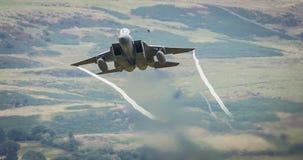 F15老鹰喷气机 库存图片
