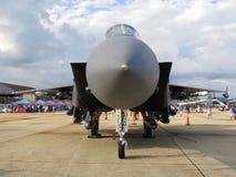 F15老鹰空中优势喷气式歼击机 免版税库存照片