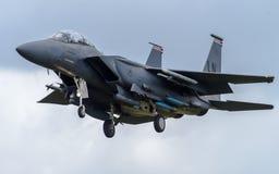 F-15老鹰 免版税库存照片