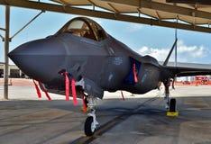 F-35联接罢工战斗机闪电II 库存照片