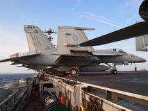 F-18航空器 库存图片