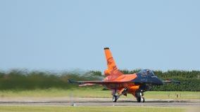 F-16荷兰皇家空军 库存照片