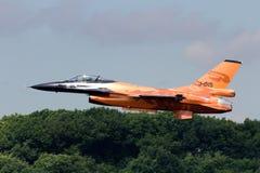 F-16荷兰语 库存图片