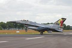 F-16荷兰离开 库存照片