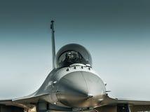 F-16蛇蝎 免版税库存照片