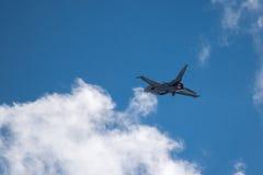 F-16蛇蝎 库存图片