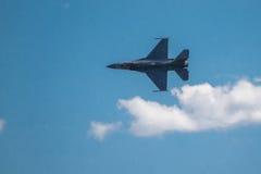 F-16蛇蝎 免版税库存图片