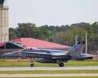 F/A-18超级大黄蜂 库存照片