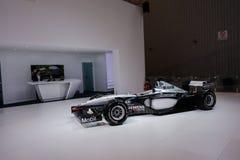 F1从迈凯伦, 2014个CDMS的赛车 免版税库存图片