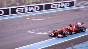 F1 2013年阿布扎比-法拉利01 库存图片