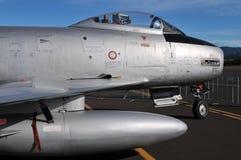 F-86马刀航空器 免版税库存图片