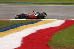 f 1 2008 Hamilton Lewis Mercedes mclaren Obrazy Stock