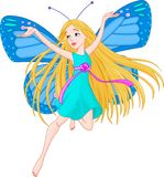 F_1. Fairy-tale, fairy, dftterfly wings Royalty Free Stock Photo