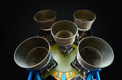 F-1 Rocket Engines Stock Photos