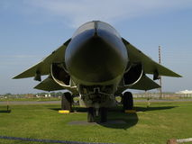 F-111 Close Up. A close up of a F-111 Aardvark. (On display at Barksdale AFB Louisiana Stock Photos
