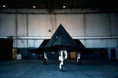 F-117 Foto de Stock