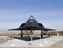 F-117 Museum Plane Stock Photography