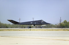 F-117A Nighthawk Stealth Jet Fighter Royalty Free Stock Photography