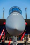 F-15老鹰喷气式歼击机飞机 免版税库存照片