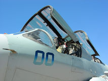F-15 Plane Cockpit Royalty Free Stock Images