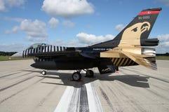 F-16土耳其AF 免版税库存照片