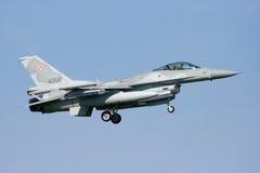 F-16战斗机军人 库存图片