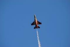 F-16战斗机 库存照片