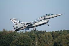 F-16挪威 免版税库存照片
