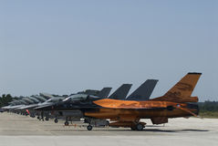 F-16 Στοκ Φωτογραφίες