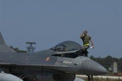 F-16 Στοκ φωτογραφίες με δικαίωμα ελεύθερης χρήσης