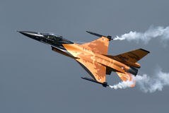F-16. Demo Team, Netherland Air Force Stock Photo