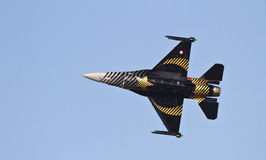 F-16 Aircraft Royalty Free Stock Photography