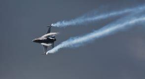 F-16 belga della componente dell'aria immagini stock libere da diritti