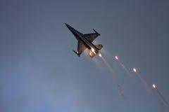 F-16 belge de composant d'air Photo stock