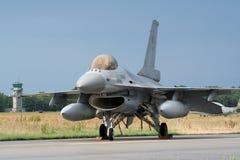 F-16 blu Fotografia Stock Libera da Diritti