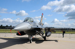 F 16 CG Multirole fighter Royalty Free Stock Photography