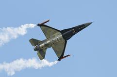 F-16 de General Dynamics Foto de archivo