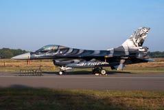 F-16 del belga Fotos de archivo libres de regalías