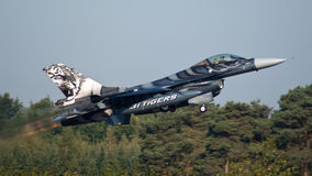 F-16 del belga Foto de archivo