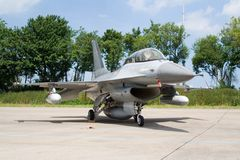 F-16 denmark Stock Photography